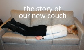 The Story of Our New Couch