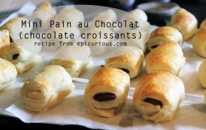 Mini Pain auChocolat